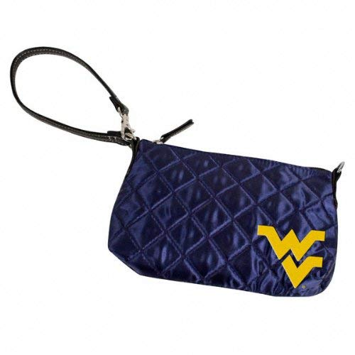 West Virginia Mountaineers Quilted Wristlet Purse