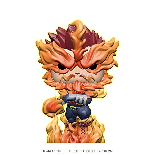 Funko Pop! Animation: My Hero Academia - Endeavor (Glow in The Dark), Amazon Exclusive