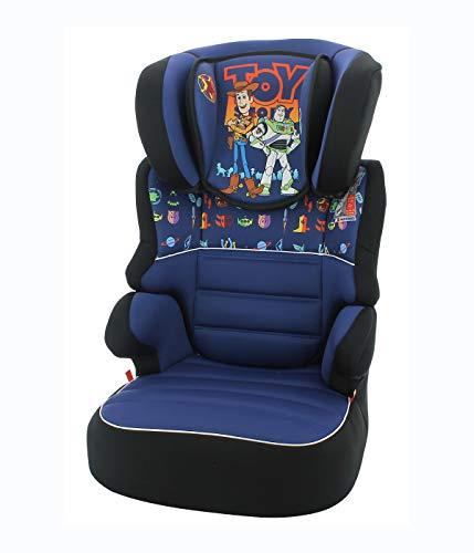 Rehausseur enfant BEFIX groupe 2/3 (15-36kg) - 4 étoiles ADAC - fabrication française - Toy Story Disney luxe