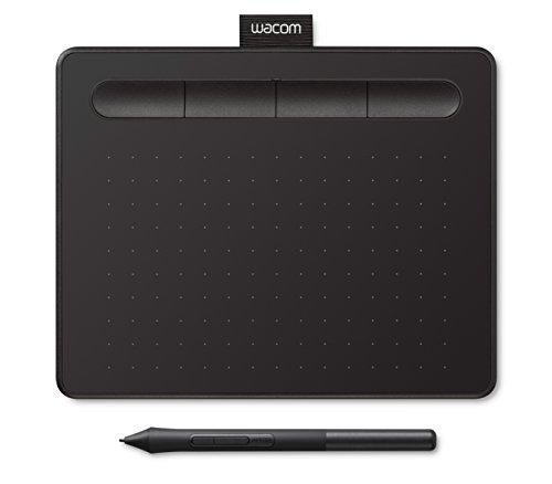 Wacom Intuos S Tableta digitalizadora 2540 líneas por Pulgada 152 x 95 mm USB Negro - Tableta gráfica (Alámbrico, 2540 líneas por Pulgada, 152 x 95 mm, USB, 7 mm, Pluma)