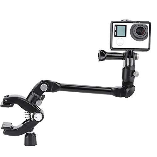 Clip Musicale per Action Cam, Rotazione a 360 ° Clip Flessibile per Braccio Regolabile Supporto per monopiede Supporto per monopiede per GoPro, Xiaoyi, Sjam, AEE Camera, per Chitarra, Batteria