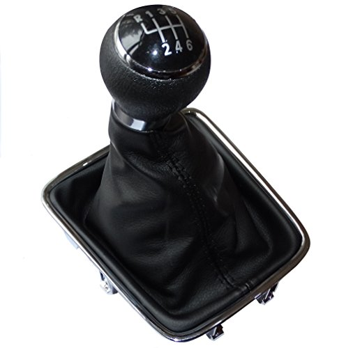 AERZETIX - C15777 - Schaltsack + schaltknauf + rahmen - 6 gänge für auto