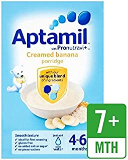 Aptamil 4-6 Months+ Creamed Banana Porridge 125g