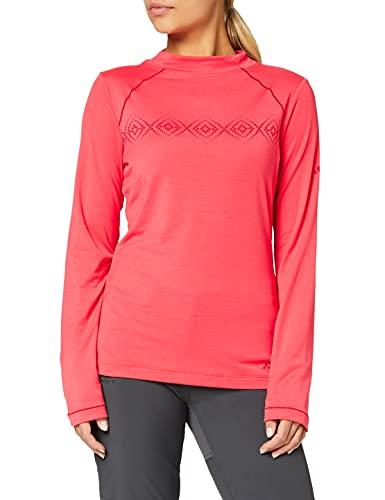 VAUDE Skomer Ls T-Shirt pour Femme S Rose