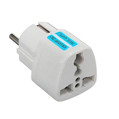 220 V de corriente adaptador connettore en UE AU US UK American Inglaterra China Estados Unidos a Europa en inglés chinesiche hembra para fuente de alimentación