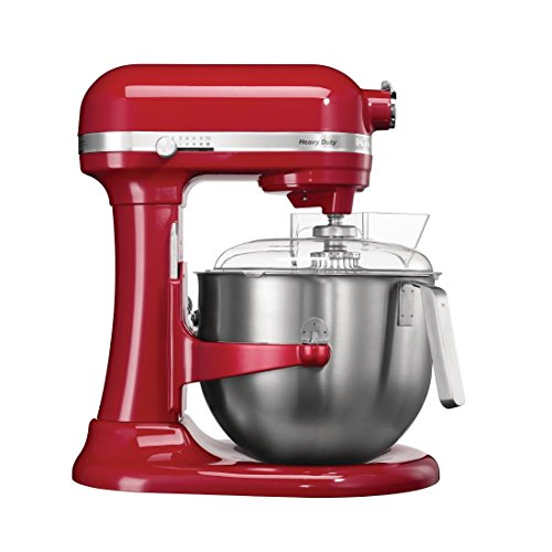 KitchenAid 5KSM7591XBER Planetary Food Mixer, 6.9L, Red