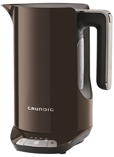 Grundig WK 7280 G Wasserkocher (2400W) 1,6 Liter, variable Temperatureinstellung, Grey Sense