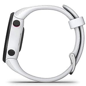Garmin Forerunner 45 S/P - Reloj Multisport con GPS, Tecnología Pulsómetro Integrado, color Blanco