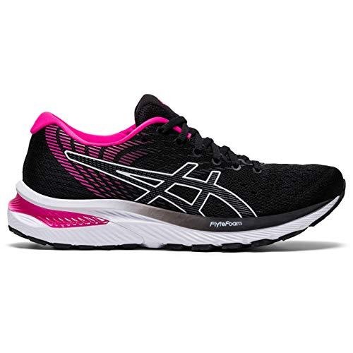 ASICS Women´'s Gel-Cumulus 22 Running Shoe, Black/Pink Glo, 8 UK