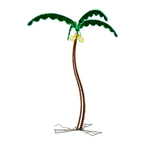 Ming's Mark 8080122 LED Rope Light Palm Tree - 7'
