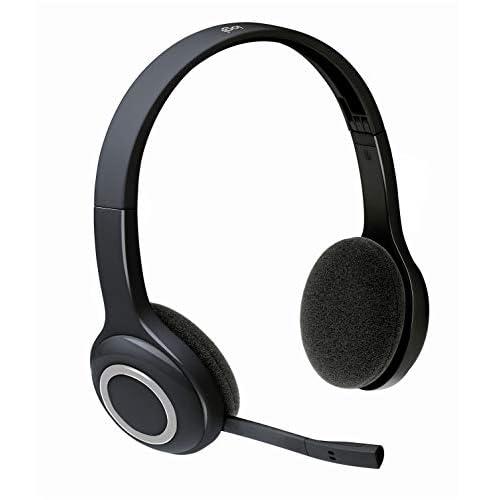 Logitech H600 Cuffie Wireless per Computer, Stereo con Microfono Girevole e Cancellazione Rumore, Nano Ricevitore USB, Controlli Integrati, Ripiegabile, Batteria Lunga Durata, PC/Mac/Laptop