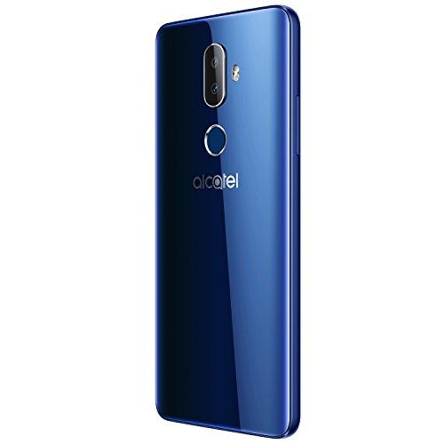 Alcatel 3V Smartphone Portable débloqué 4G (Ecran: 6 Pouces - 16 Go - Nano-SIM - Android) Bleu