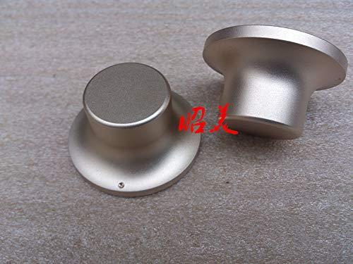 Tomeco Diameter 48mm Handle Diameter 28mm High 26mm All Aluminum Solid Volume Knob Audio Amplifier Potentiometer Knob - (Color: Gold)