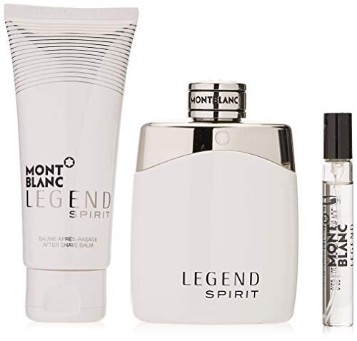 Mont blanc Montblanc Legend Spirit Eau Toilette 100Ml + Balsamo Despues Afeitado 100Ml + Eau Toilette 7.5Ml 200 g