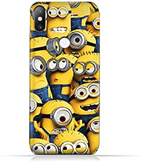 Xiaomi Mi Mix 2S TPU Soft Protective Silicone Case with Minions Design
