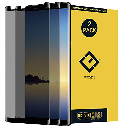 Note 8 Privacy Screen Protector,(2 Pack) Anti-Spy Anti-Glare Ultra-Thin Clear 9H Tempered Glass Protective Film Compatible with Samsung Galaxy Note8 N950 N950U N950W N950FD N950F N9500 N9508