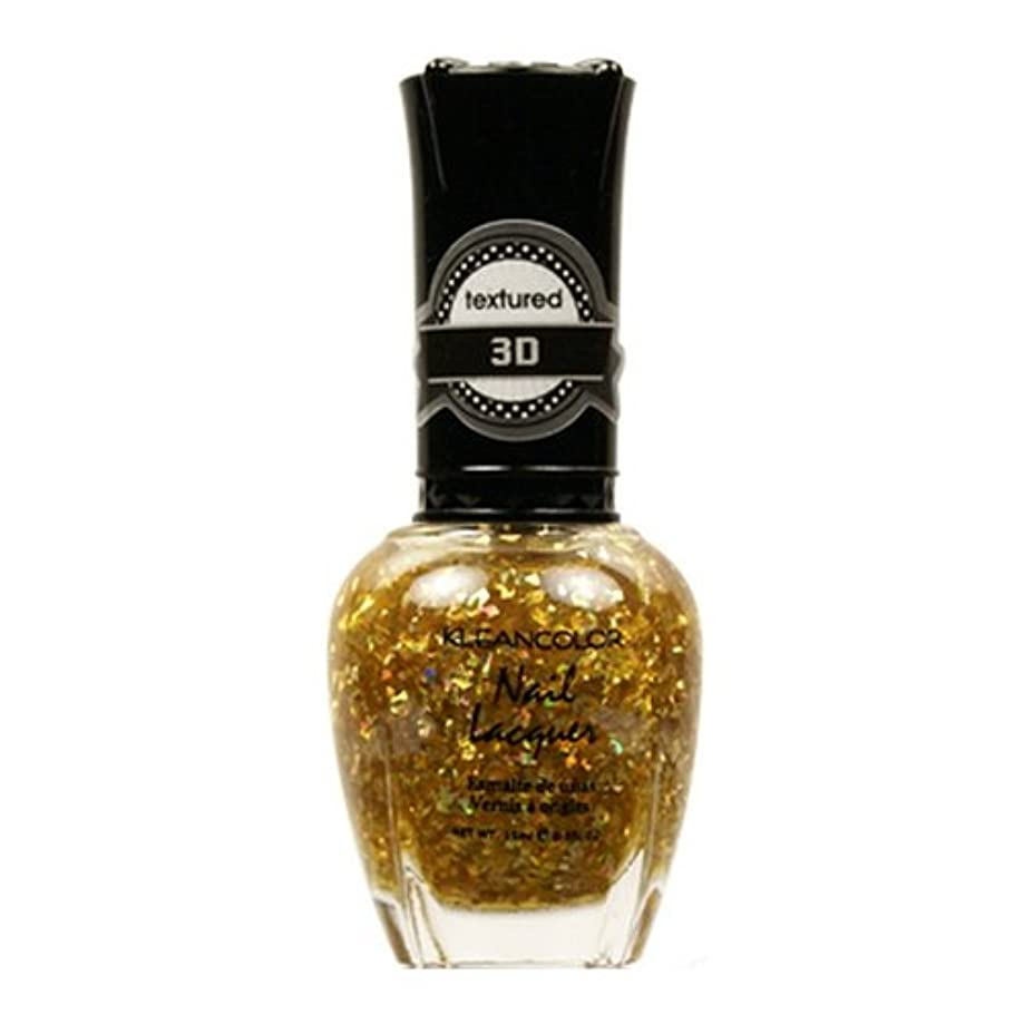 カレッジ製油所検索KLEANCOLOR 3D Nail Lacquer - Almost Good As Gold (並行輸入品)