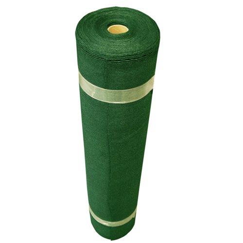 Coolaroo 436094 Stoff für den Außenbereich (1,8 x 1,5 m kleine Rolle), Waldgrün, mit 50% UV-Abdeckung für den Garten, 30,5 x 1,5 m