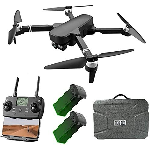 DCLINA Drone GPS con Fotocamera UHD 6K e stabilizzatore a 2 Assi Gimbal 5GHz WiFi FPV Live VideoQuadcopter Brushless Motor 2000MDistanza 28 Minuti Tempo Volo