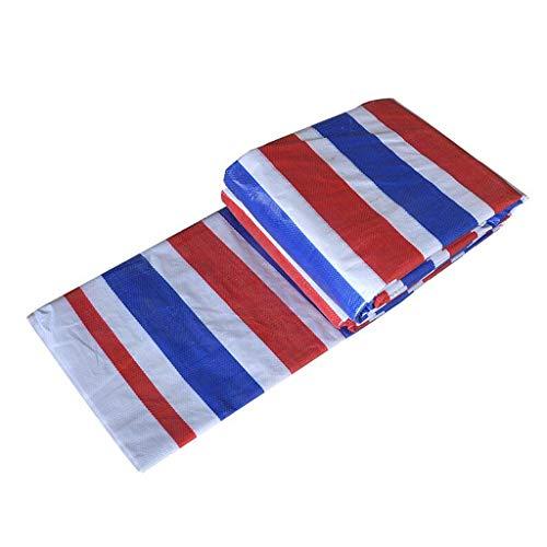 Vele parasole LQ Flower Poncho Color Strip Cloth Nastro a Fiori in Stoffa a Tre Colori Nastro in plastica Tela impermeabilizzata in Stoffa Impermeabil