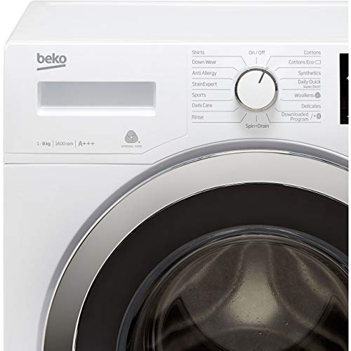Beko WR860441W 8kg 1600rpm Washing Machine - White