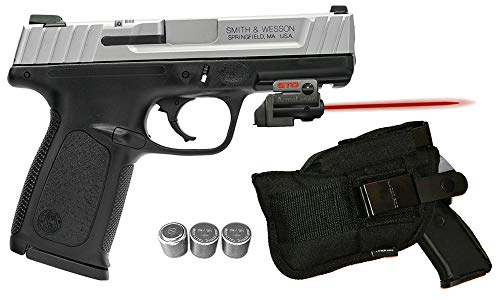 Amazing Deal Laser Kit for S&W SD9VE / SD40VE w/Tactical Holster, Grip Activated ArmaLaser GTO Red Laser Sight & 2 Extra Batteries (Does NOT fit SW9VE or SW40VE)