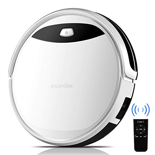 Robot Vacuum Cleaner, Experobot EX500 with Strong Suction & Self Charging, Robotic Vacuum cleaner with Smart Anti Drop/Collision Sensors, Cleans Hard Floors to Medium-Pile Carpets Dining Features Kitchen Robotic Vacuums