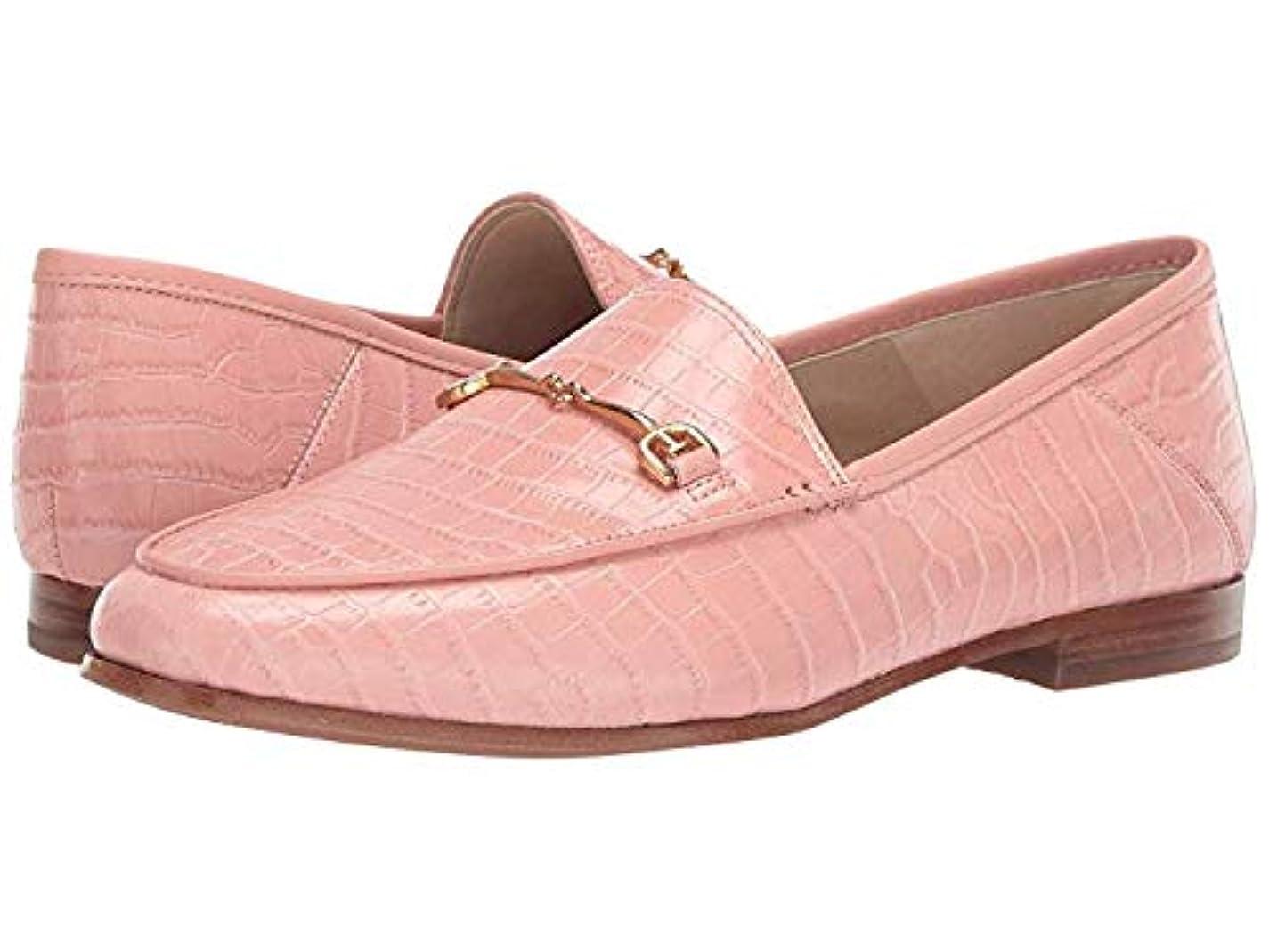 引退したスーパー退屈[Sam Edelman(サムエデルマン)] レディースローファー?靴 Loraine Loafer Canyon Pink Kenya Croco Embossed Leather (24cm) W [並行輸入品]