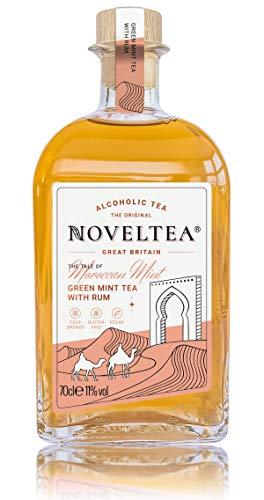 Noveltea - Alkoholischer Tee - Die Höhle der Löwen - Grüner Minz Tee mit Rum - 700 ml, 11%
