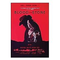Qqwer 石の血ヴァンジャカペタノビッチ映画キャンバスポスターとプリント壁アート絵画写真家の装飾-50X70Cmx1Pcs-フレームなし