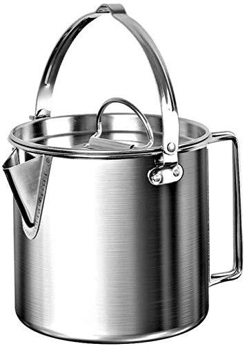 Eléctricos Peso ligero y portátil Hervidor compacto Pote que acampa de Senderismo con mochila de picnic que acampa yendo de té Agua Pot