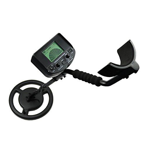 Sicherheitstester Metalldetektor, unterirdischer Pinpointer-Detektor Tiefe 2,5 m Sensor AS924 für Gold Silber-Nugget-Münzen-Metalldetektor Digitaler Tester