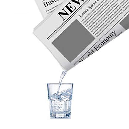 MingXiao Papel Periódico Magia Desempeño Periódico Trucos Magia Periódico Prop. Novedad Increíble Magia Divertida Realizar para la Fiesta