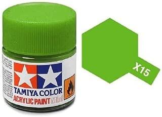 Tamiya Models X-15 Mini Acrylic Paint, Light Green