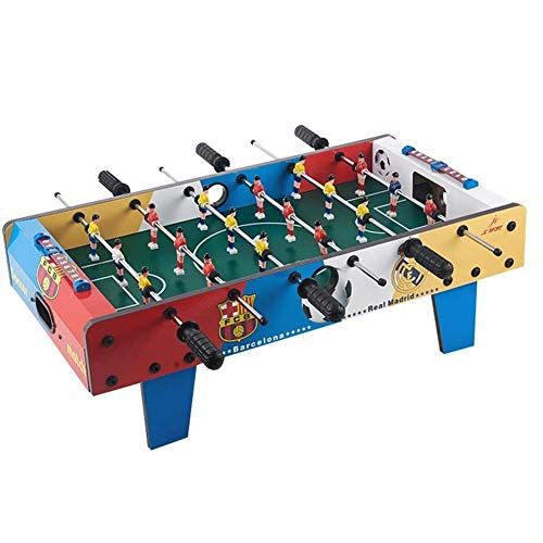 Great Features Of LYYAN Family Games 6 Rows Adult Foosball Tabletop Games Set Gifts and Accessories Mini Portable Tabletops Soccer Kids – Recreational Hand Soccer for Game Rooms Arcades