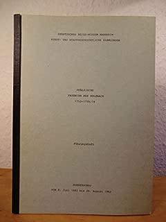 Pfälzische Fayencen aus Sulzbach 1752 - 1770/74. Sonderschau vom 8. Juni 1982 bis 29. August 1982 - Führungsheft