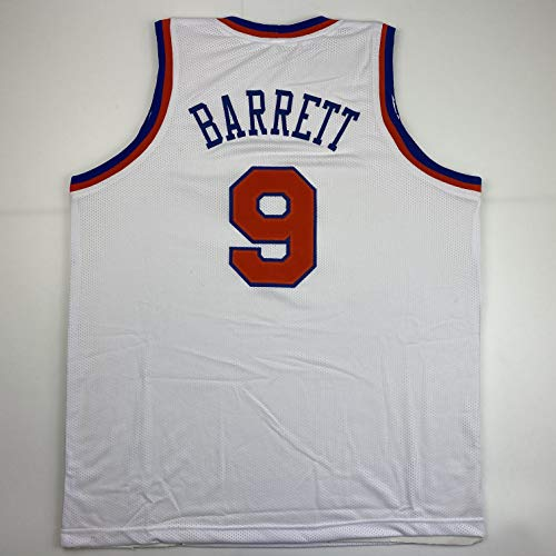 Unsigned RJ Barrett New York White Custom Stitched Basketball Jersey Size Men's XL New No Brands/Logos