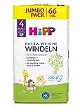HiPP Babysanft Windeln Maxi 4 Jumbo, 66 Stück