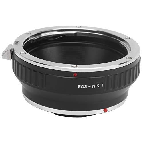 Adapterring für Manuelle Fokuslinsen der Aluminiumlegierung EOS-NIK1 für Canon EF-Objektive für Nikon N1 / 1 / V1 / V2 / V3 / S1 / S2 / J1 / J2 / J3 / J4 / AW1-Montagekameras