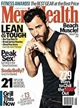 Men's Health Magazine (July/August, 2018) Justin Theroux Cover