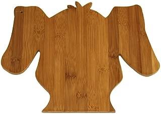 A Pet Project APCB08 APetProject Bamboo Scruffy Dog Cutting Board, 12X9.375X0.375, Brown