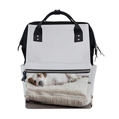 Sleepy Puppy Dog Cute Große Kapazität Windel Taschen Mummy Rucksack Multi Funktionen Wickeltasche Tasche Handtasche Für Kinder Babypflege Reise Täglichen Frauen