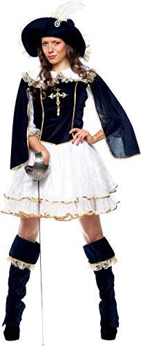 chiber Disfraces Musketiere Damen Kostüm (L - Large)