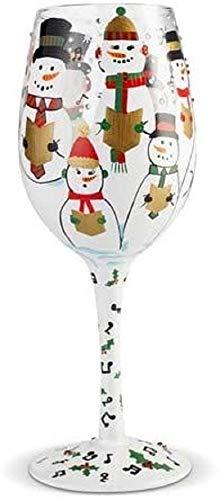 Lolita 6002980 Copa de vino, Cantando en la Nieve
