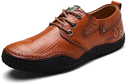 LOVDRAM Bottes Homme Hiver New Leather Men 'Chaussures Outdoor Low to Help Casual Chaussures Mode Blanc Chaussures De Mode