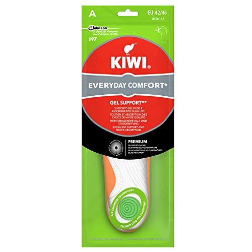 Kiwi Gel Support, Solette Scarpe in Gel, Sportive e Ammortizzanti, Taglia 42-46 EU, 1 Paio
