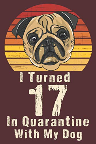 I Turned 17 In Quarantine With my Dog: Happy Quarantined birthday journal for Daughter and son / 17th 17 years old born in 2003 bday present ideas ... distancing gifts for Teens / Dog Lovers.