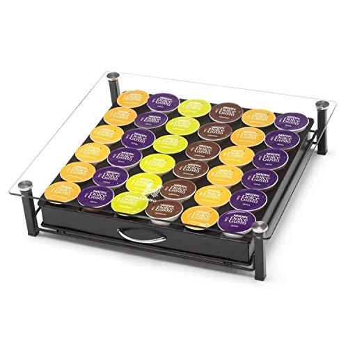 Dispensador de cápsulas de café Homiso – Compatible con Dolce Gusto – Almacenamiento de cápsulas de café, 36x cápsulas