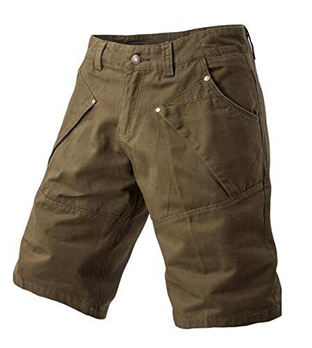 Pantalones Cortos Delgados Para Con Hombres De Bolsillo Bolsillo Mode De Marca...