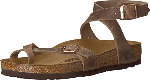 Birkenstock Yara Tobacco 36 (US Women's 5-5.5) Regular
